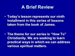 Seeking Series Review How To Develop Real Faith 2 14 26 A Brief Review Today S