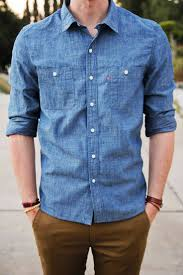 i think chambray shirts should be a wardrobe staple for you easy