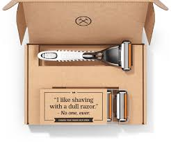 monthly gift clubs dollar shave club the original shave club