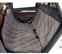 quilted luxury hammock back seat protector