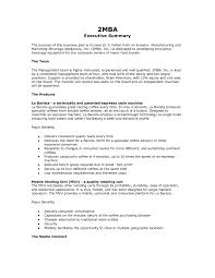 business plan executive summary template lareal co free example 1