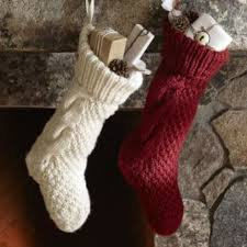 turn an old sweater into a stocking stockings holidays and craft