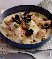 recette de cuisine poisson recette blanquette aux deux poissons et aux moules