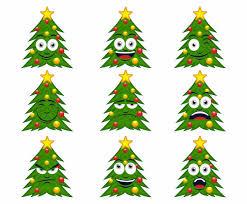 free cartoon christmas tree vector vector art u0026 graphics