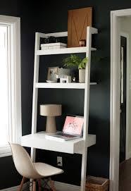 Ladder Bookcase Desk by Computer Table Leaning Brown Wooden Ladder Shelfmputer Desk On