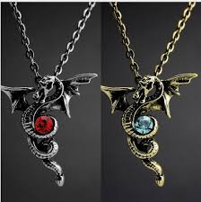 dragon jewelry necklace images Vintage cool gothic dragon necklace punk stylish men jewelry jpg