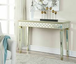 mirrored console vanity table 7 best mirrored vanity tables images on pinterest makeup desk