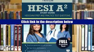 free download hesi a2 study guide hesi exam prep and practice