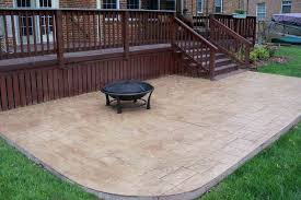 Backyard Cement Ideas Awesome Small Cement Patio Ideas Patio Design Ideas