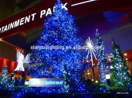 Solar Outdoor Christmas Tree Lights by Outdoor Indoor Christmas Solar Led Net Lights Color Changing