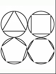 extraordinary geometric shapes printable coloring pages with