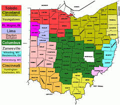 Map Of Akron Ohio by Ohio Map Map Travel Holiday Vacations