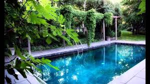 Backyard Landscaping With Pool by Exotic Garden Swimming Pools Designs Youtube