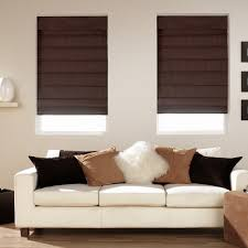 Cotton Roller Blinds Decorating Ideas Modern Dining Room Decoration With Floral Cotton
