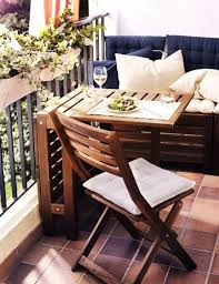 furniture fascinating balcony storage ideas with floating dining