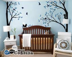 Tree Nursery Wall Decal Tree Wall Decal Nursery Wall Decoration Tree Wall Sticker