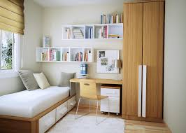 interior bedroom modern study room shows acrylic chair and