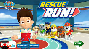 paw patrol rescue run nickelodeon ios iphone ipad ipod