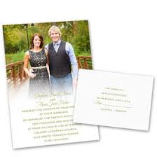 wedding invitations with pictures wedding invitations s bridal bargains