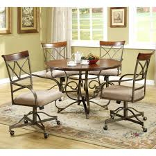 Chromcraft Furniture Kitchen Chair With Wheels Chromcraft Furniture Kitchen Chair With Wheels Chairs Casters