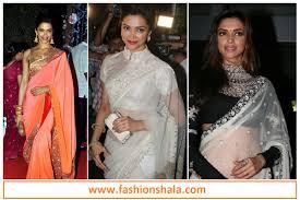 saree blouse styles gorgeous designer saree blouse patterns worn by deepika padukone
