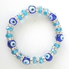 bracelet blue evil eye images Turkish blue glass evil eye bracelet with charm toronto canada jpg