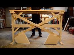 diy standing desk low cost counterweights