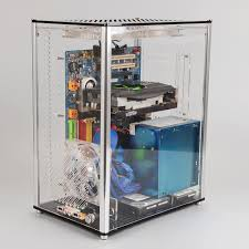aliexpress com buy qdiy pc a009 atx transparent computer case pc
