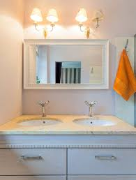 How To Frame Bathroom Mirror Outstanding White Framed Bathroom Mirrors Insurserviceonline