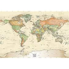 map world oceans map