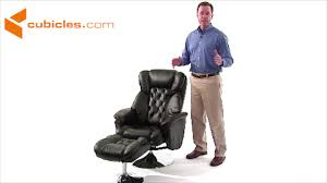 Black Leather Recliner Chairs Puglia Black Leather Recliner Chair Youtube