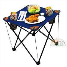 small folding camp table amazon com
