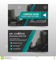 green black corporate business card name card template