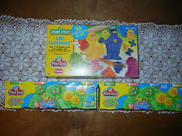 buy nos play doh sesame street abc company plus 8 cans pastel play