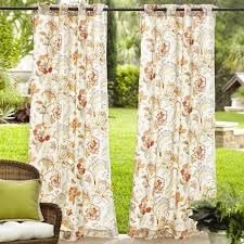Outdoor Curtain Fabric by Eva Floral Outdoor Curtain Pier 1 Imports Bohemian Rhapsody