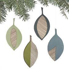 just crafty enough diy inspiration modern leaf ornaments