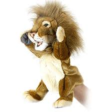 lion puppet hansa realistic lion puppet toys teddy bears and soft toys