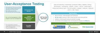 enterprise wide testing solutions ppt download
