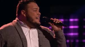 Blind Christian Church Boy Singing