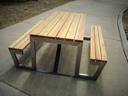 Modern Outdoor Furniture Ideas Modern Picnic Table Room Ideas Renovation Marvelous Decorating