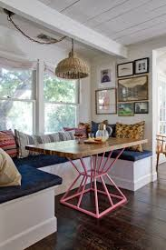 Dining Room Booth Seating by Dining Room Abstract Awesome Table Benches Chandeliers Banquette