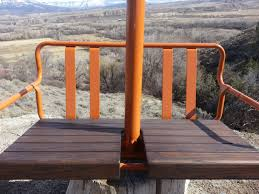 Backyard Ski Lift Antique Ski Lift Chair Swing Free Shipping