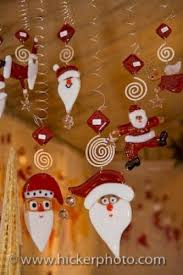 themed christmas decorations santa hanging christmas ornaments photo information