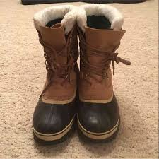 s sorel caribou boots size 9 50 sorel shoes sorel s caribou boots size 9 from