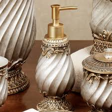 Antique Brass Bathroom Accessories by Monaco Bath Accessories