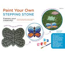 amazon com paint your own stepping stone butterfly toys u0026 games