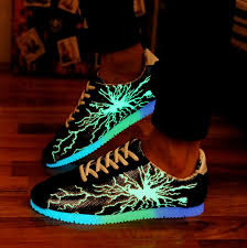 light shoes for mens glow in the dark casual shoes men shoes luminous shoes fluorescent
