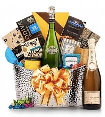 Champagne Gift Basket Christmas Gift Baskets Rich Club
