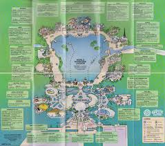 Map Of Walt Disney World by Angry Ap Disneyland And Walt Disney World Nostalgia Epcot