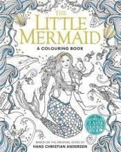 mermaid colouring book hans christian andersen